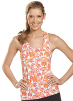 Jockey® Tie-Dye Tank w/ Shelf Bra