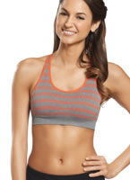Jockey® Expo Stripe Sports Bra