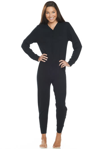 Jockey® Fashion Waffle Union Suit (1 of 2)