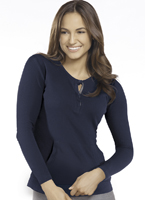 Jockey® Fashion Waffle Henley w/ Pocket