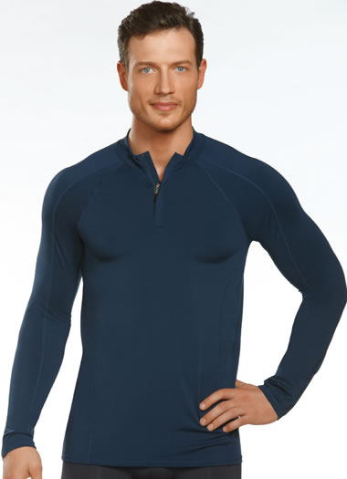 Jockey® Sport Stretch Zip-Up Thermal