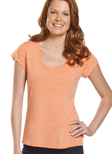 Jockey® Flex Jersey Scoop Neck Tee