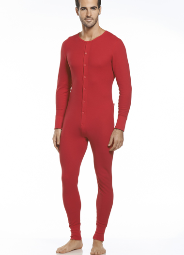 Jockey® Waffle Union Suit (1 of 2)
