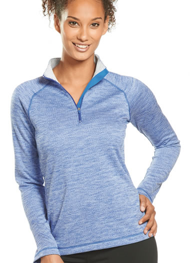 Jockey® Marathon Melange Half Zip Jacket (1 of 1)