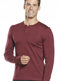 Jockey® Smart Thermal Long Sleeve Henley