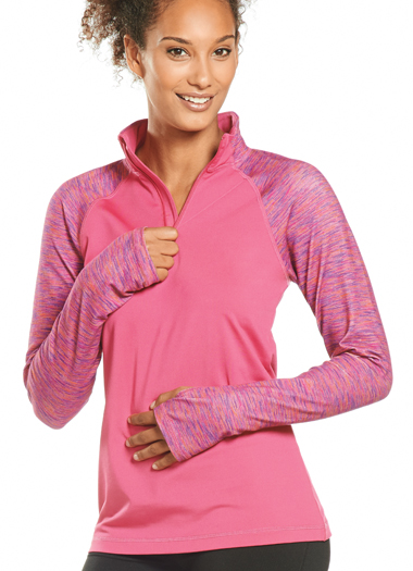 Jockey® Catalyst Half Zip Top