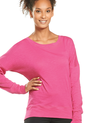 Jockey® Slub Jersey Dolman Top (1 of 1)