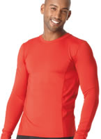 Jockey Microfiber Performance Long Sleeve Crew