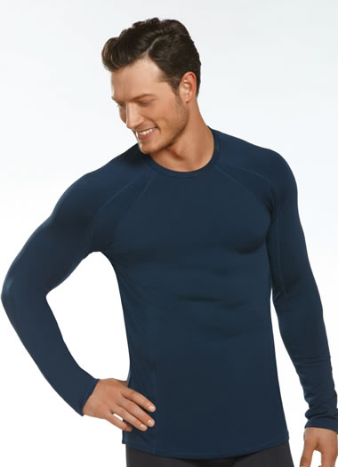 Jockey® Sport Stretch Crew Neck Thermal