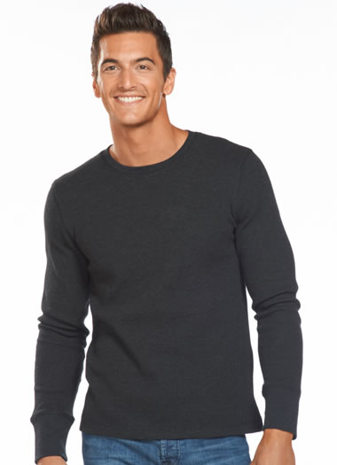 Jockey&amp;amp;reg; Stretch Waffle Crew Neck Shirt (1 of 1)