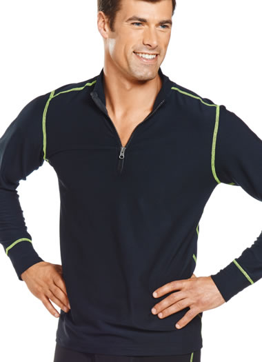 Jockey® Performance Stretch Zip Mock (1 of 1)
