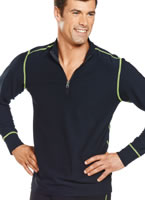 Jockey® Performance Stretch Zip Mock