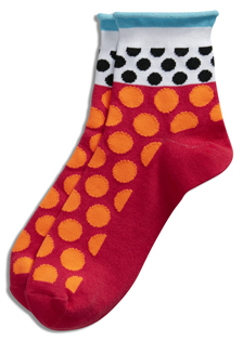Jockey Polka Dot Roll-Top Quarter