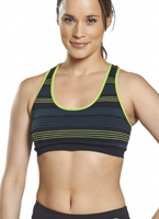 Jockey® Stripe Seamless Bra