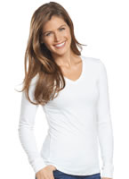 Jockey® Smart Thermal Reversible V-neck