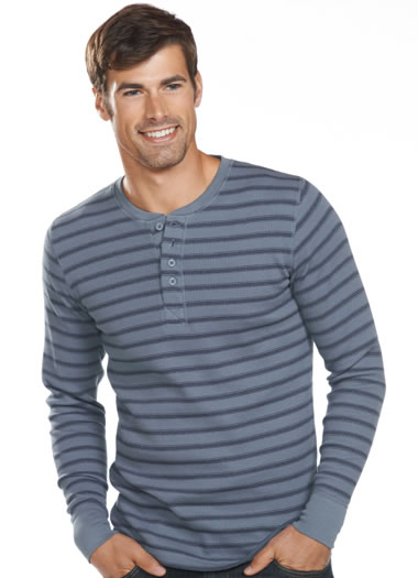 Jockey&amp;amp;reg; Stretch Waffle Henley (1 of 1)