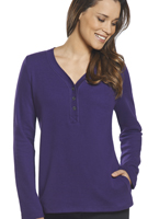Jockey® Long Sleeve Henley w/Pocket