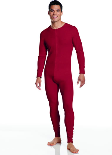 Jockey® Stretch Waffle Union Suit (1 of 2)