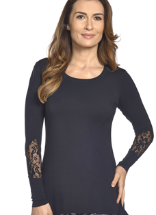 Jockey® Supersoft Lace Tunic