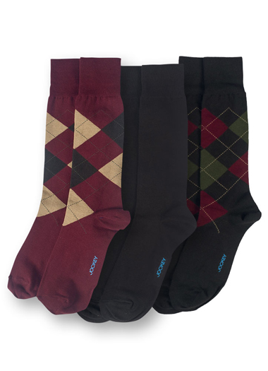Jockey® Fashion Argyle Crew - 3 pack (1 of 1)