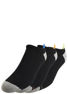 Jockey® Color Tab Back No Show - 3 Pack