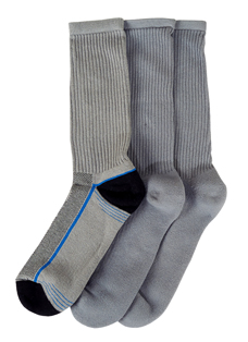Jockey® Heel Accent Crew - 3 Pack