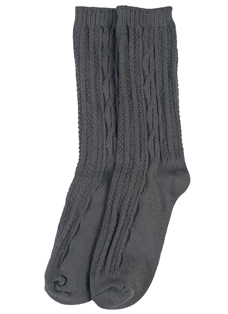 Jockey® Cable Knit Boot Sock