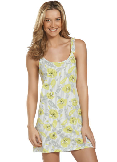Jockey® Summer Bouquet Ruffle Chemise (1 of 1)