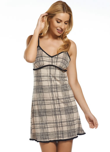 Jockey® Plaid Sleep Chemise (1 of 1)