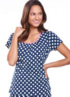 Jockey® Autumn Rose Polka Dot Sleep Top