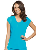 Jockey® Smart Sleep Ruffle Trim Top
