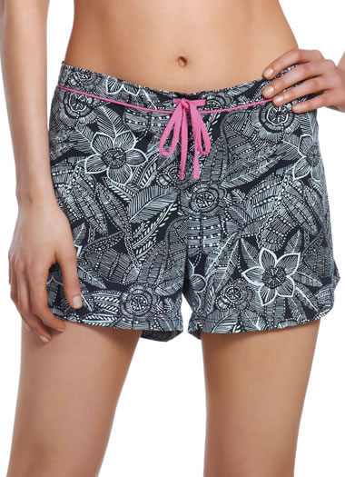 Flower Print Boxer Short (1 of 1)