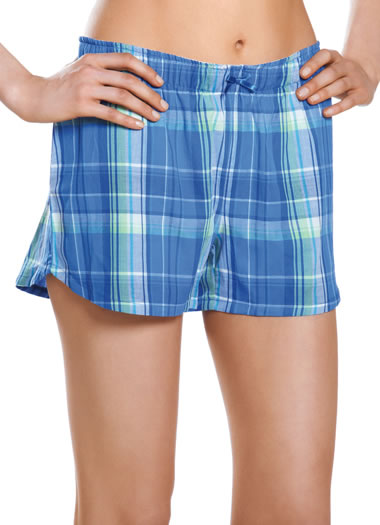 Princess Plaid Boxer Short (1 of 1)
