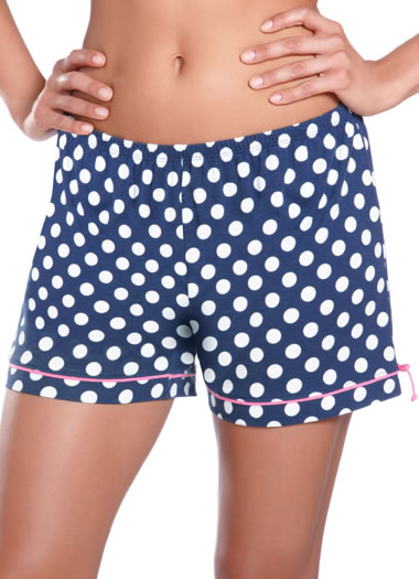 Jockey® Autumn Rose Polka Dot Boxer (1 of 1)