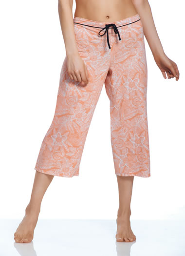 Flower Print Sleep Capri (1 of 1)