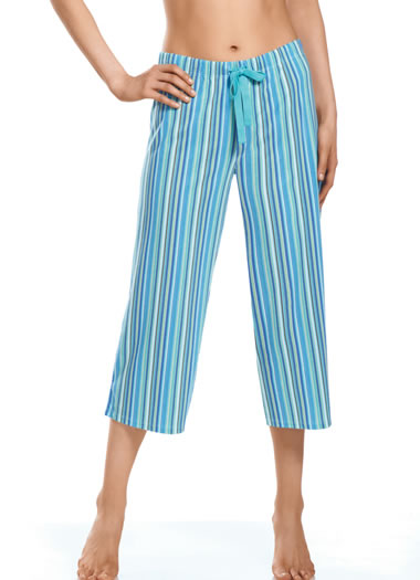 Striped Sleep Capri (1 of 1)