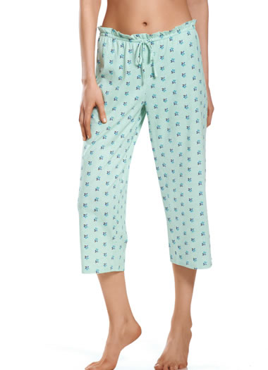 Jockey® Berry Stripe Sleep Capri (1 of 1)