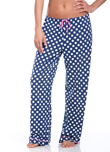 Jockey® Autumn Rose Polka Dot Sleep Pant (1 of 1)