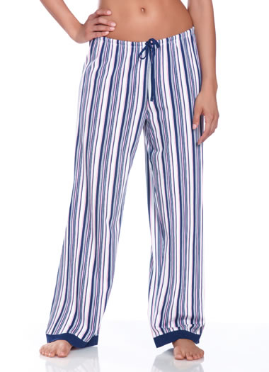 Jockey® Autumn Rose Striped Sleep Pant (1 of 1)