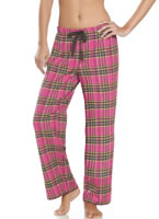 Jockey® Pretty In Pink Flannel Pant