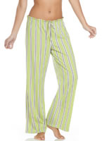 Jockey® Green Stripe Sleep Pant