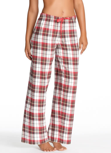 Jockey® Red Plaid Flannel Pant (1 of 1)