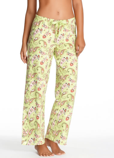 Jockey® Kiwi Paisley Flannel Pant (1 of 1)