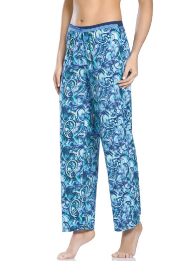 Jockey&amp;amp;reg; Paisley Sea Sleep Pant (1 of 1)