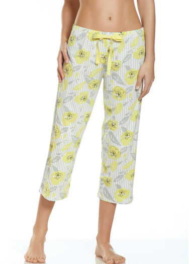 Jockey® Summer Bouquet Floral Sleep Capri (1 of 1)