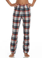 Jockey® Red Plaid Flannel Pant