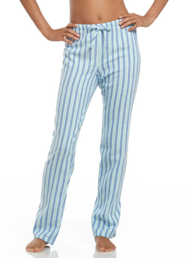 Jockey® Blue Stripe Flannel Pant