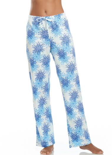 Jockey® Snowflake Flannel Pant (1 of 1)