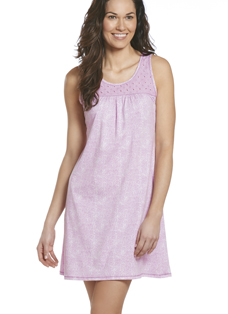 Jockey® Cotton Modal Eyelet Lace Chemise