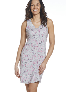 Jockey® Cotton Modal Floral Scalloped Chemise